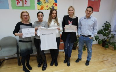 H4Her donation to Safe House, Sarajevo – a collaboration with YEP